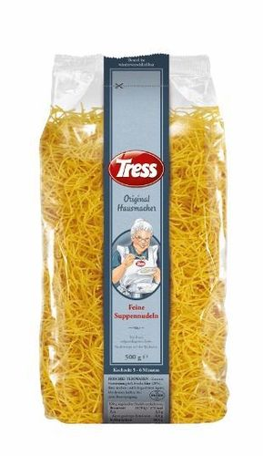 Tress Original Hausmacher Feine Suppennudeln 500g